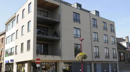 bouw moderne appartementen