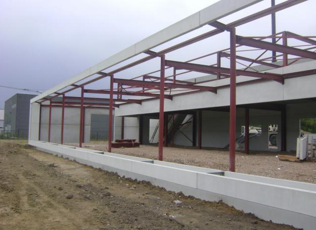 prefab beton staalconstructie