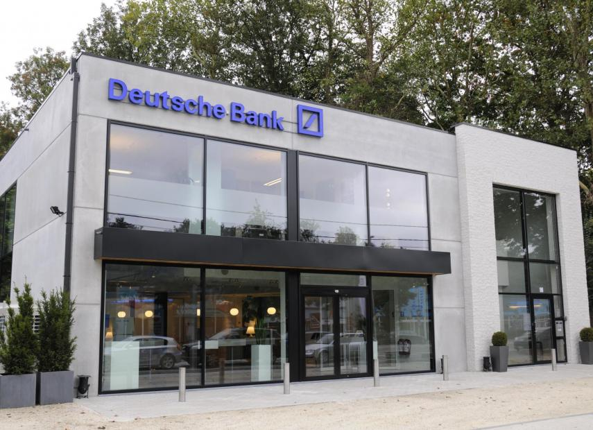 gordijngevel Deutsche bank