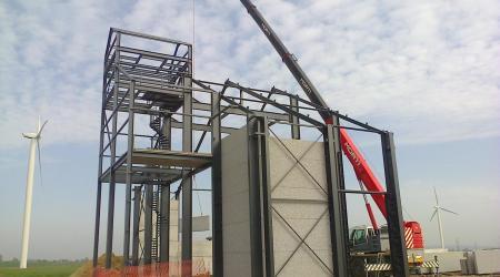 Metaalconstructie voor de bouw