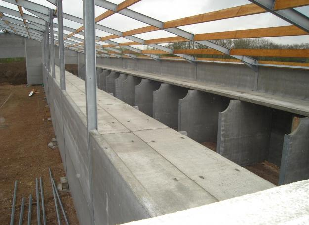 prefab beton dakconstructie