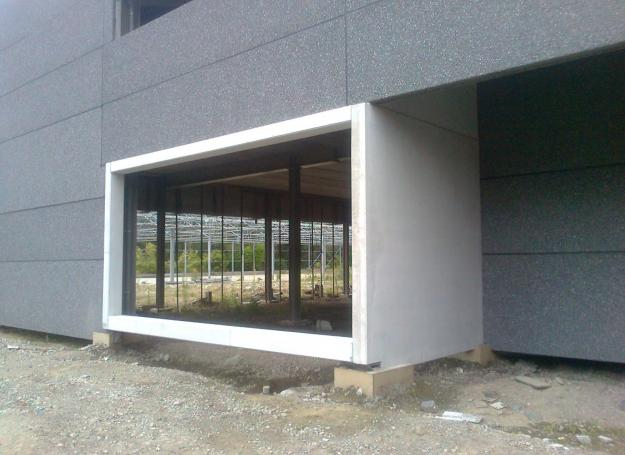 accentmuur prefab beton